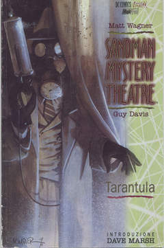 Copertina SANDMAN M.T. 01 TARANTULA n.0 - SANDMAN MYSTERY THEATRE TARANTULA, MAGIC PRESS