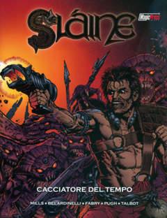 Copertina SLAINE n.6 - SLAINE: CACCIATORE DEL TEMPO, MAGIC PRESS