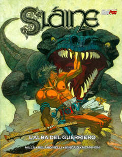 Copertina SLAINE n.4 - SLAINE: L'ALBA DEL GUERRIERO, MAGIC PRESS