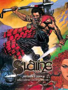 Copertina SLAINE n.7 - SLAINE: UCCISORE DI DEMONI, MAGIC PRESS