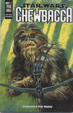 Copertina SW CHEWBACCA n.0 - SW CHEWBACCA, MAGIC PRESS