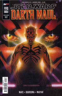 Copertina SW DARTH MAUL n.0 - SW DARTH MAUL, MAGIC PRESS