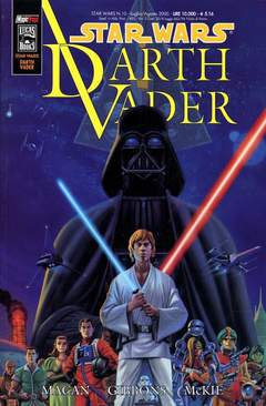 Copertina SW DARTH VADER n.0 - SW DARTH VADER, MAGIC PRESS