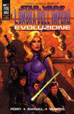 Copertina SW OMBRA DELL'IMPERO EVOLUZION n.0 - EVOLUZIONE, MAGIC PRESS