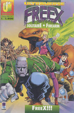Copertina ULTRAVERSE FREEX n.1 - ULTRAVERSE FREEX             1, MAGIC PRESS