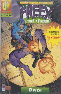 Copertina ULTRAVERSE FREEX n.2 - ULTRAVERSE FREEX             2, MAGIC PRESS