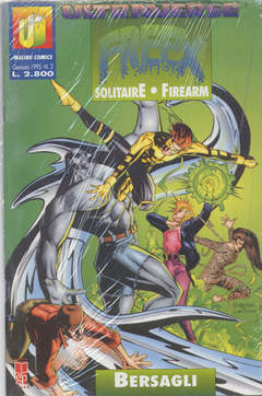 Copertina ULTRAVERSE FREEX n.3 - ULTRAVERSE FREEX             3, MAGIC PRESS