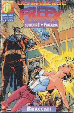 Copertina ULTRAVERSE FREEX n.4 - ULTRAVERSE FREEX             4, MAGIC PRESS