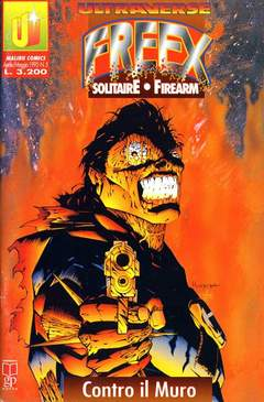 Copertina ULTRAVERSE FREEX n.5 - ULTRAVERSE FREEX             5, MAGIC PRESS