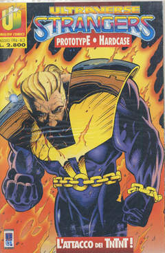 Copertina ULTRAVERSE STRANGERS n.3 - ULTRAVERSE STRANGERS         3, MAGIC PRESS