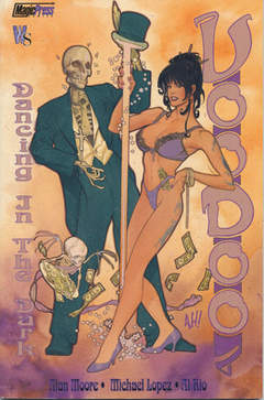 Copertina VOODOO DANCING IN DARK n.0 - VOODOO DANCING IN THE DARK, MAGIC PRESS