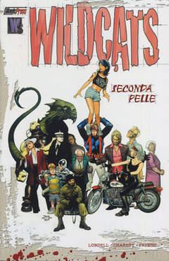 Copertina WILDCATS 2.1 SECONDA PELLE n.0 - WILDCATS 2.1 SECONDA PELLE, MAGIC PRESS