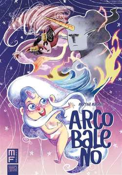 Copertina ARCOBALENO Variant Cover n. - ARCOBALENO, MANFONT