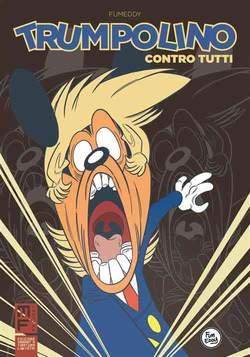 Copertina TRUMPOLINO CONTRO TUTTI Var. n. - TRUMPOLINO CONTRO TUTTI, MANFONT
