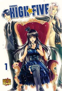 Copertina FUJIWARA HIGH FIVE n.1 - FUJIWARA HIGH FIVE volume 1, MANGASENPAI