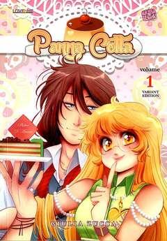 Copertina LOVE ME n.6 - PANNA COTTA - volume 1 variant cover, MANGASENPAI