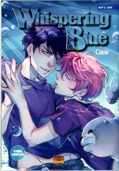 Copertina WHISPERING BLUE Variant Cover n. - Variant Cover di LUMI NIEMI, MANGASENPAI
