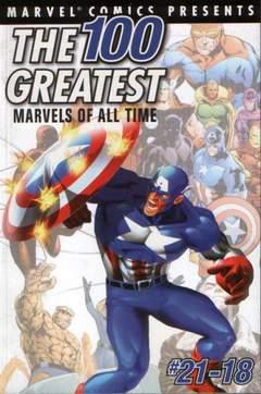 Copertina 100 GREATEST MARVELS n.2 - #21-18, MARVEL COMICS USA