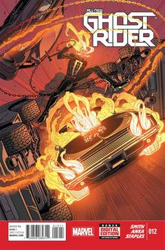 Copertina ALL NEW GHOST RIDER n.12 - Great Power Part 2, MARVEL COMICS USA