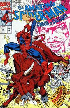 Copertina AMAZING SP. CHAOS IN CALG. M4 n.4 - Chaos in Calgary, MARVEL COMICS USA