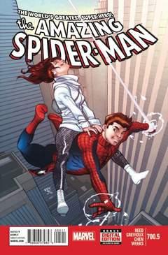 Copertina AMAZING SPIDER-MAN 1963 #700 n.5 - AMAZING SPIDER-MAN #700.5, MARVEL COMICS USA