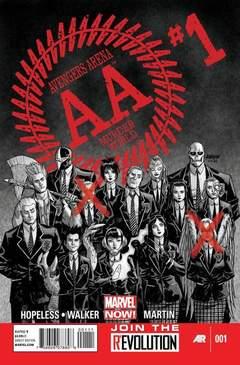 Copertina AVENGERS ARENA n.1 - Worse Things, MARVEL COMICS USA