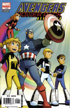 Copertina AVENGERS POWER PACK ASSEMBLE n.1 - One for the Ages, MARVEL COMICS USA