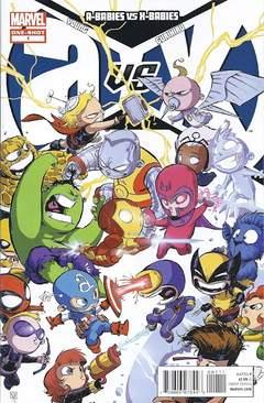 Copertina A-BABIES VS X-BABIES n.1 - Marvelous Meadows, MARVEL COMICS USA