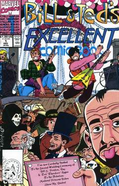 Copertina BILL & TED'S EXCELLENT COMICB. n.1 - Party On, Dudes!, MARVEL COMICS USA