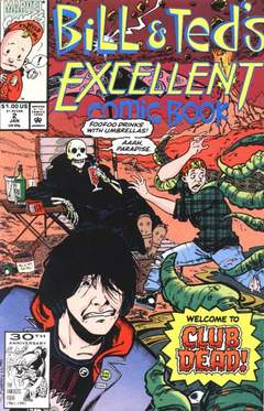 Copertina BILL & TED'S EXCELLENT COMICB. n.2 - Death Takes a Most Heinous Holiday, MARVEL COMICS USA
