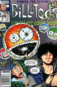Copertina BILL & TED'S EXCELLENT COMICB. n.6 - Having A Bogus Time... Wish You Were Here!, MARVEL COMICS USA