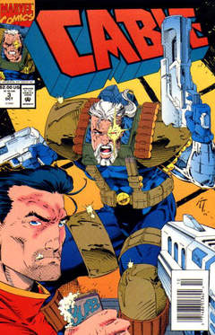 Copertina CABLE 1993 n.3 - Twenty Questions, MARVEL COMICS USA