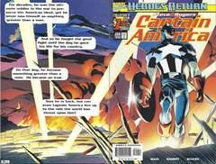 Copertina CAPTAIN AMERICA 1998 n.1 - The Return Of Steve Rogers, MARVEL COMICS USA
