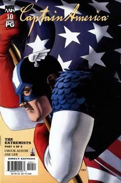 Copertina CAPTAIN AMERICA 2002 n.10 - CAPTAIN AMERICA 2002        10, MARVEL COMICS USA