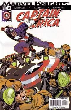 Copertina CAPTAIN AMERICA 2002 n.26 - The Bucky Issue, MARVEL COMICS USA
