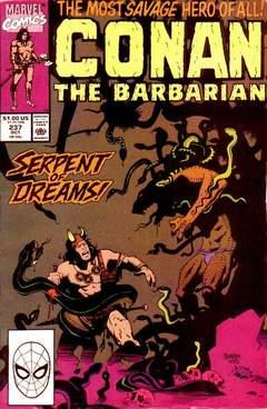 Copertina CONAN THE BARBARIAN n.237 - Serpent of Dreams, MARVEL COMICS USA