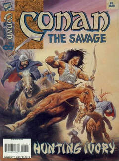 Copertina CONAN THE SAVAGE n.8 - Hunting Ivory, MARVEL COMICS USA