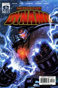 Copertina CRIMSON DYNAMO n.3 - Game Off!, MARVEL COMICS USA