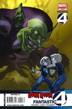 Copertina DARK REIGN FANTASTIC FOUR n.4 - The Bridge, Chapter Four, MARVEL COMICS USA