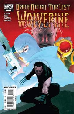 Copertina DARK REIGN LIST WOLVERINE n. - All We Want Is The World and Everything In It, MARVEL COMICS USA