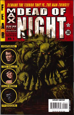 Copertina DEAD OF NIGHT FEAT.MAN THING n.1 - The Cool Dark: Part 1 of 4, MARVEL COMICS USA
