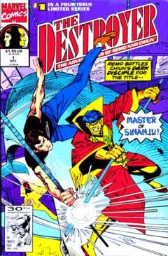 Copertina DESTROYER 1991 n.1 - The Terror Master, MARVEL COMICS USA