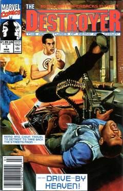 Copertina DESTROYER 1991 (Vol. 2) n. - DESTROYER SPECIAL, MARVEL COMICS USA