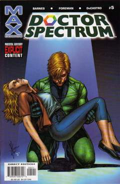 Copertina DOCTOR SPECTRUM n.5 - Full Spectrum, MARVEL COMICS USA