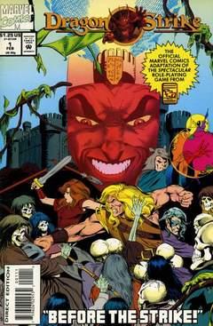 Copertina DRAGON STRIKE n. - Before The Strike!, MARVEL COMICS USA