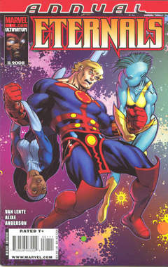 Copertina ETERNALS 2008 ANNUAL n.1 - True Believers, MARVEL COMICS USA