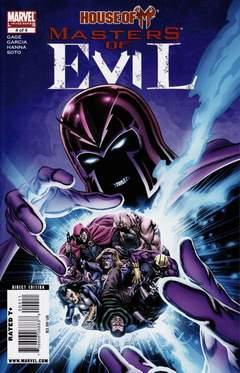 Copertina HOUSE OF M MASTERS EVIL n.4 - Honor Among Thieves, MARVEL COMICS USA