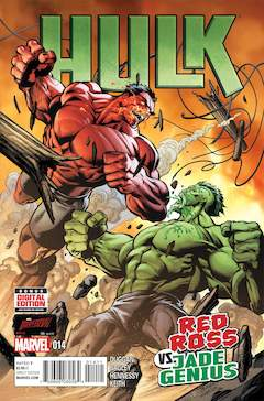 Copertina HULK 2014 n.14 - The Ω Hulk Chapter Ten, MARVEL COMICS USA