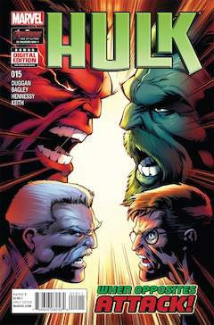 Copertina HULK 2014 n.15 - The Ω Hulk Chapter Eleven, MARVEL COMICS USA