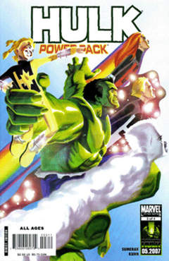 Copertina HULK AND POWER PACK n.3 - HULK AND POWER PACK          3, MARVEL COMICS USA